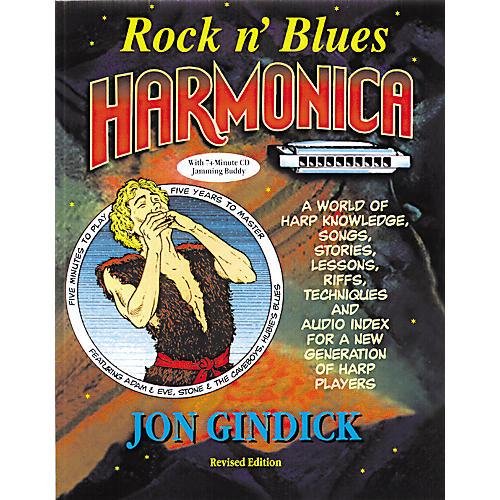 Music Sales Rock N' Blues Harmonica (Book/CD)