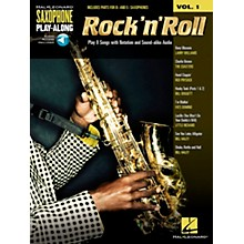 Hal Leonard Rock 'N' Roll - Saxophone Play-Along Vol. 1 Book/Online Audio