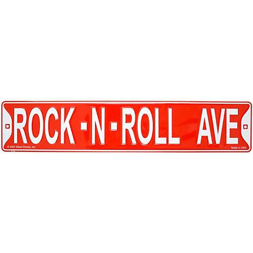 AIM Rock-N-Roll Avenue Street Sign