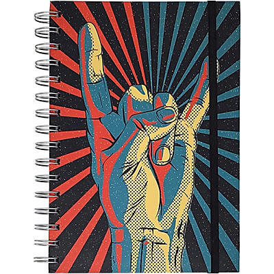 Pyramid America Rock On! Hand Starburst Premium Journal