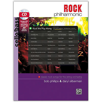 Alfred Rock Philharmonic Cello/Bass Book & CD
