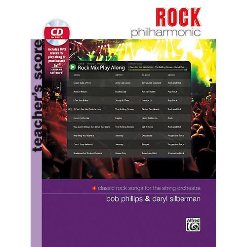 Alfred Rock Philharmonic Teacher's Score Book & CD