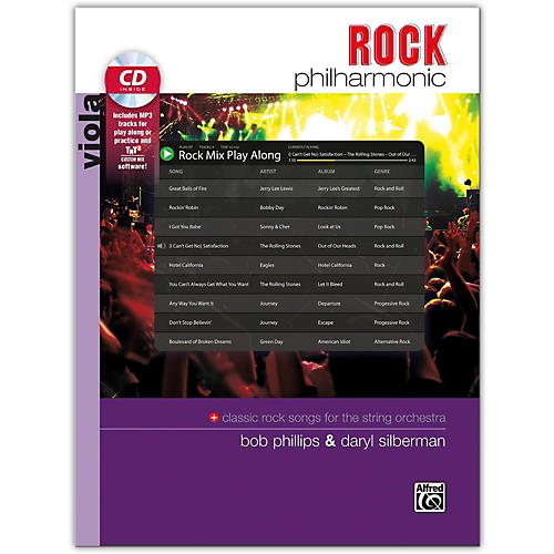 Alfred Rock Philharmonic Viola Book & CD