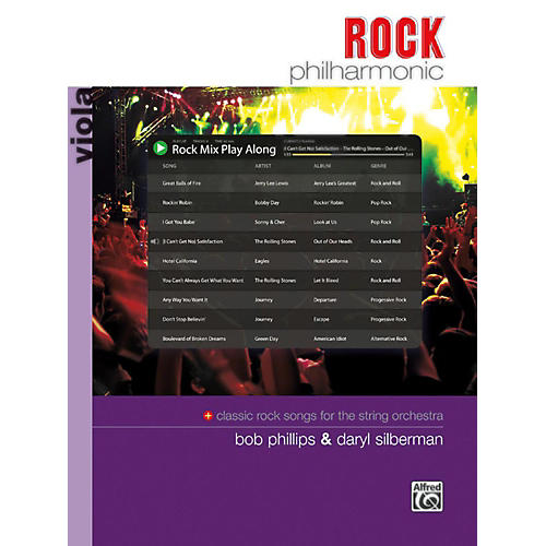 Alfred Rock Philharmonic Viola Book