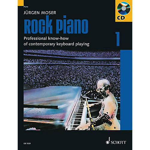 Schott Rock Piano - Volume 1 Schott Series Softcover with CD