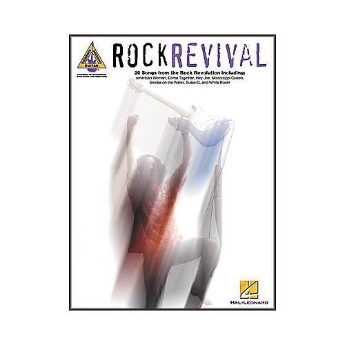 Hal Leonard Rock Revival Guitar Tab Songbook