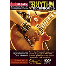 Licklibrary Rock Rhythm Techniques Lick Library Series DVD Performed by Danny Gill