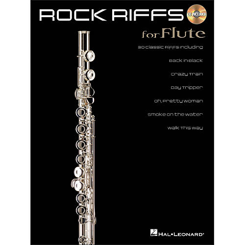 Hal Leonard Rock Riffs for Flute Book/CD