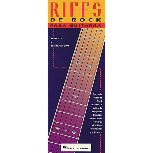 Hal Leonard Rock Riffs for Guitar Tab Book