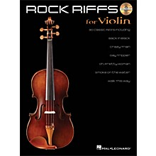 Hal Leonard Rock Riffs for Violin - Book/CD