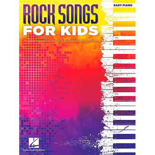 Hal Leonard Rock Songs For Kids for Easy Piano