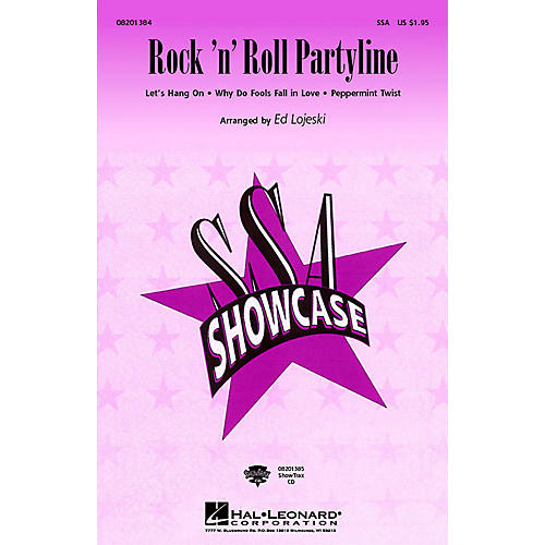 Hal Leonard Rock 'n' Roll Partyline (Medley) (SSA) SSA arranged by Ed Lojeski
