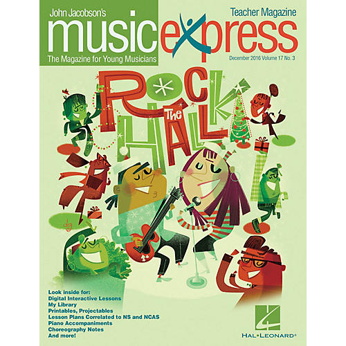 Hal Leonard Rock the Hall Vol. 17 No. 3 (December 2016) PREMIUM PAK by American Authors Arranged by Emily Crocker