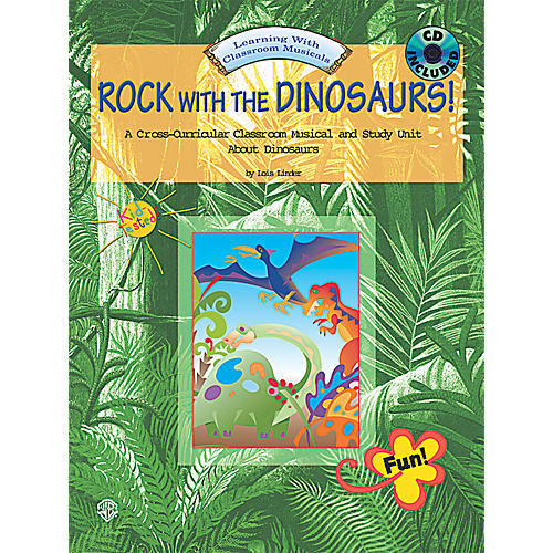 Alfred Rock with the Dinosaurs!  Complete package with CD & reproducible script
