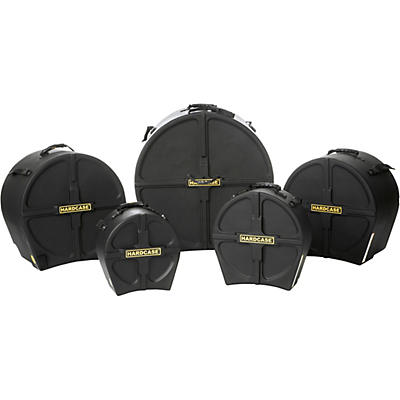 HARDCASE Rock1 5-Piece Drum Case Set