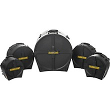 HARDCASE RockFusion 5-Piece Drum Case Set