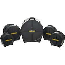 HARDCASE RockFusion2 5-Piece Drum Case Set