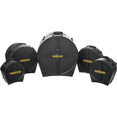 HARDCASE RockFusion2 5-Piece Drum Case Set