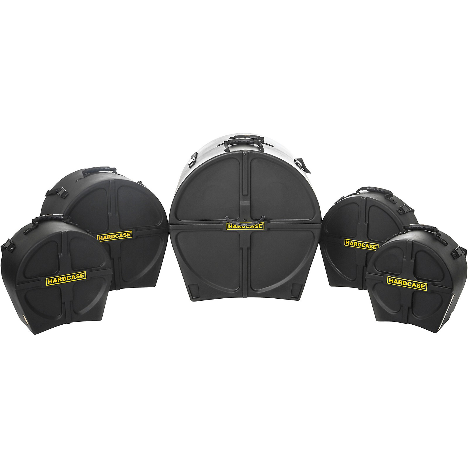 HARDCASE RockFusion3 5-Piece Drum Case Set