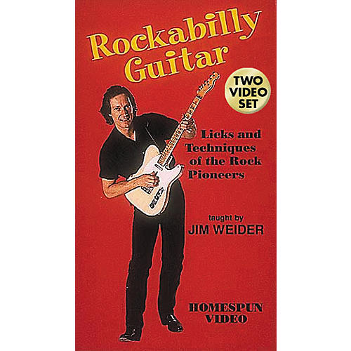 Hal Leonard Rockabilly Guitar - 2-Video Set