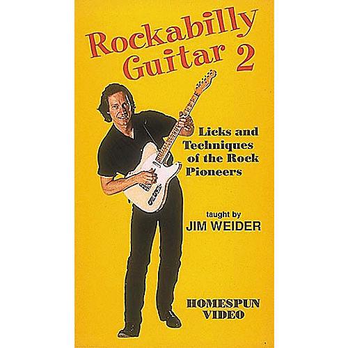 Homespun Rockabilly Guitar 2 (VHS)