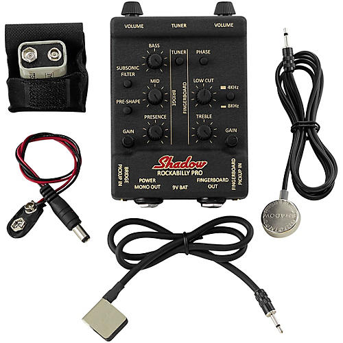 Shadow Rockabilly Pro Dual Upright Bass Pickup and Preamp