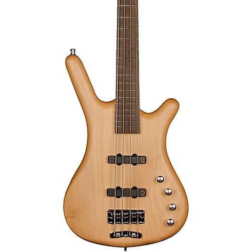 Warwick Rockbass Corvette Basic Active 4-String Electric Bass Natural Satin