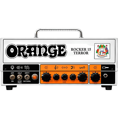 Orange Amplifiers Rocker 15 Terror 15W Tube Guitar Amp Head White