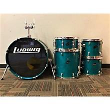 Ludwig Rocker Elite 5 Piece Drum Kit