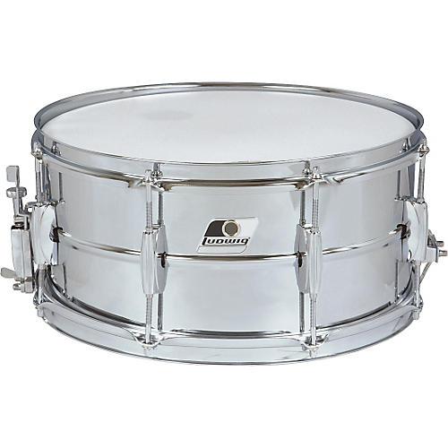 Ludwig Rocker Steel Shell Snare Drum