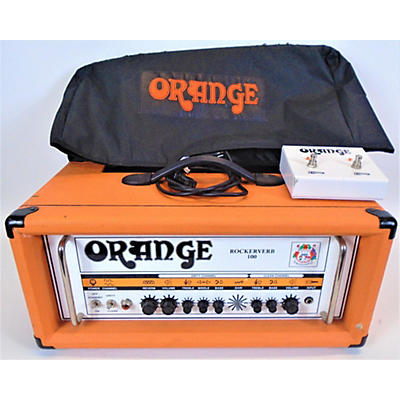 Orange Amplifiers Rockerverb RK100HTC 100W Tube Guitar Amp Head
