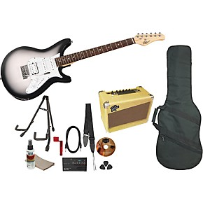 Rogue Rocketeer Deluxe Electric Guitar Pack Musicians Friend