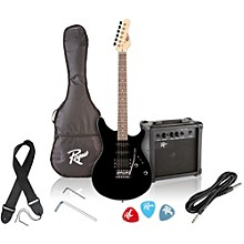 Open Box Rogue Rocketeer Electric Guitar Pack