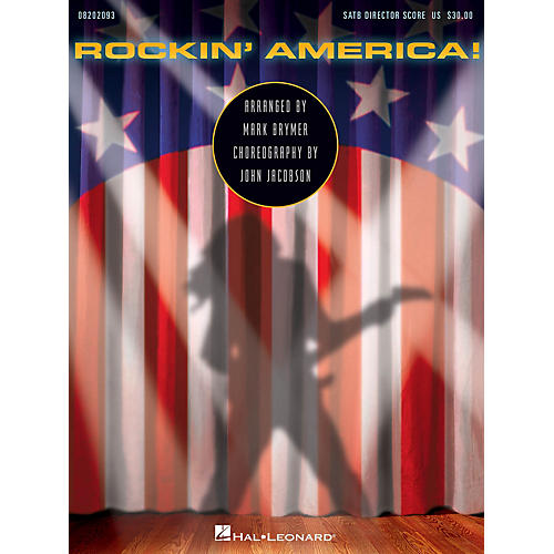 Hal Leonard Rockin' America! (Choral Medley) DIR-KIT Arranged by Mark Brymer