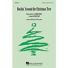 Hal Leonard Rockin' Around the Christmas Tree TTBB A Cappella Arranged by Kirby Shaw