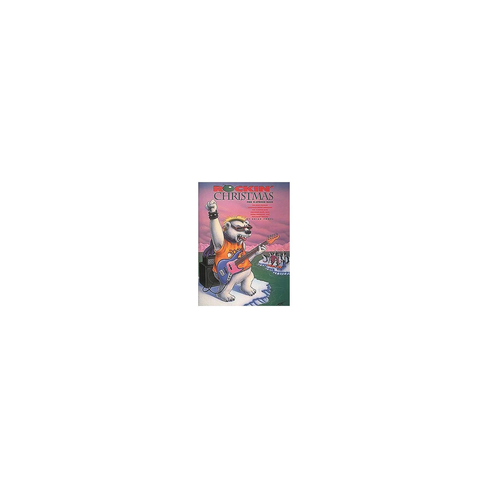 Centerstream Publishing Rockin' Christmas For 5-String Bass (Book/CD)