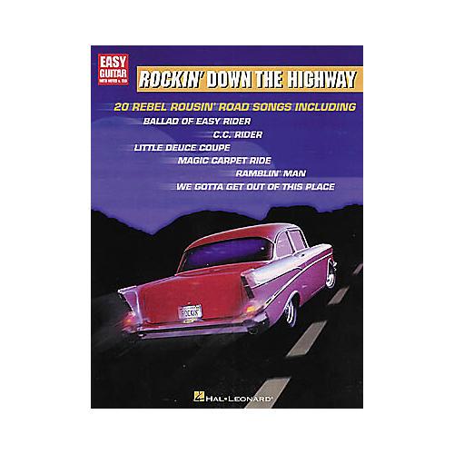 Hal Leonard Rockin' Down the Highway Easy Guitar Tab Songbook