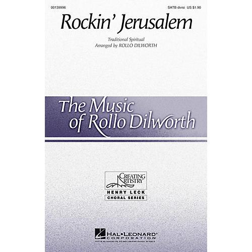 Hal Leonard Rockin' Jerusalem SATB Divisi arranged by Rollo Dilworth
