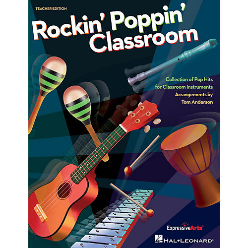 Hal Leonard Rockin' Poppin' Classroom sing-along CD Arranged by Tom Anderson