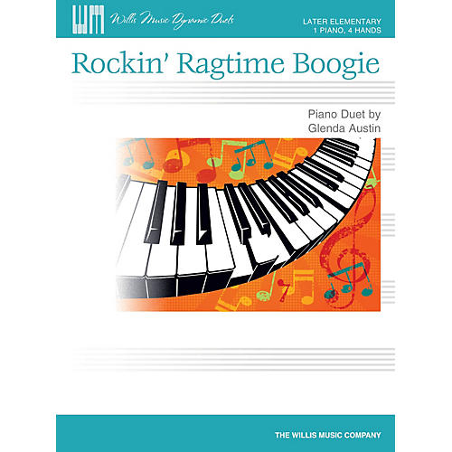 Willis Music Rockin' Ragtime Boogie Willis Series by Glenda Austin (Level Late Elem)