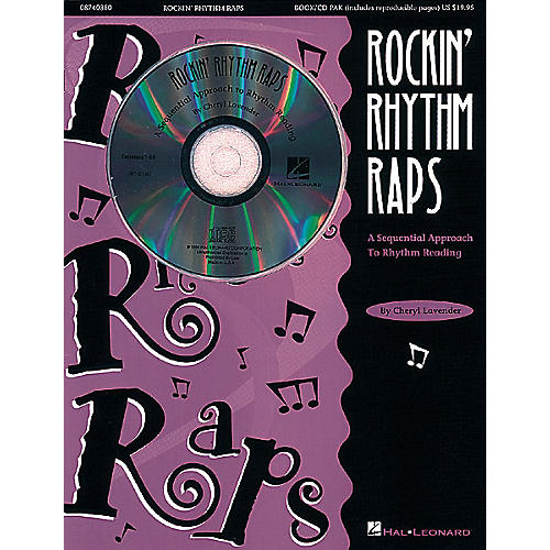 Hal Leonard Rockin' Rhythm Raps - A Sequential Approach to Rhythm Reading (Resource) Composed by Cheryl Lavender