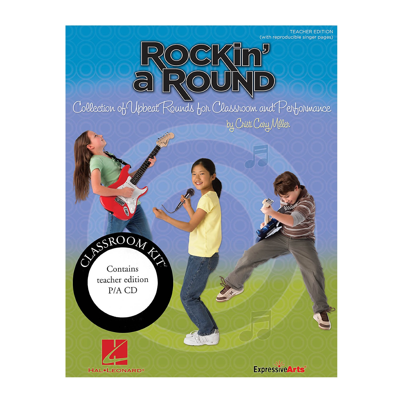 Hal Leonard Rockin' a Round - Collection of Upbeat Rounds for Classroom and Performance Classroom Kit