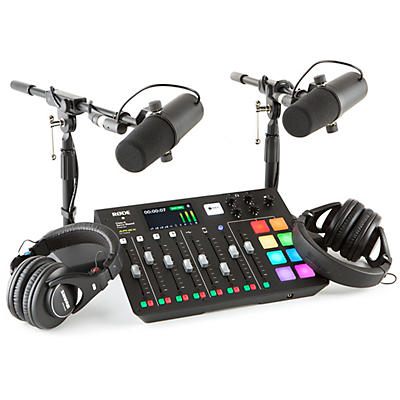 Rode Rodecaster Pro 2-Person Podcasting Bundle With SM7B & SRH440