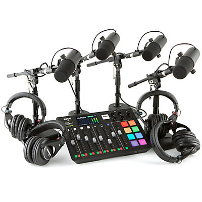Rode Rodecaster Pro 4-Person Podcasting Bundle With SM7B & SRH840