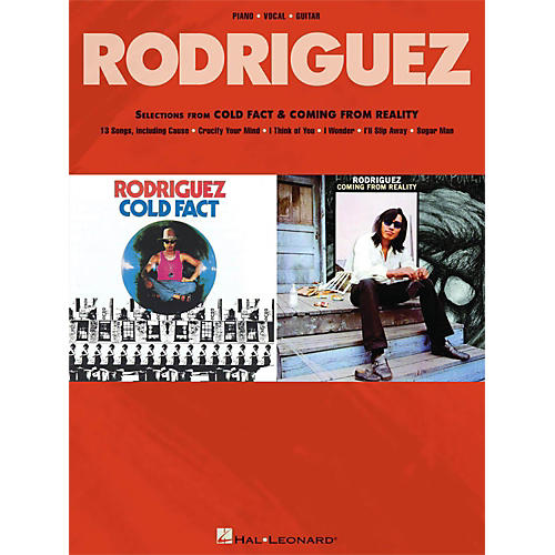 Hal Leonard Rodriguez - Selections From Cold Fact & Coming From Reality for Piano/Vocal/Guitar