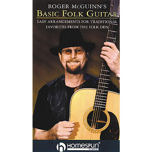 Homespun Roger McGuinn's Basic Folk Guitar (VHS)