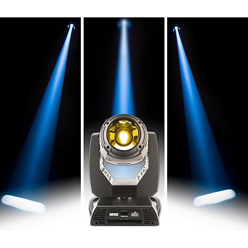 CHAUVET Professional Rogue RH1 Hybrid Moving Head Beam, Spot, Wash Light with Zoom, Gobos and Color Wheel
