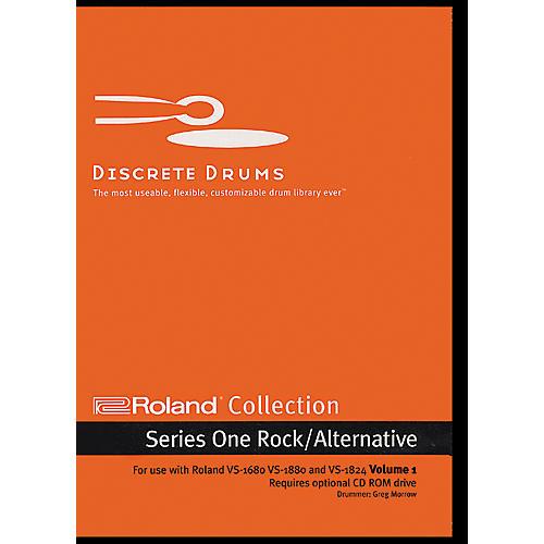 Discrete Drums Roland Collection Series One Rock/Alternative Volume 1 CD-ROM
