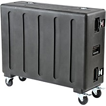 Open Box SKB Rolling Mixer QU32 Case with Doghouse