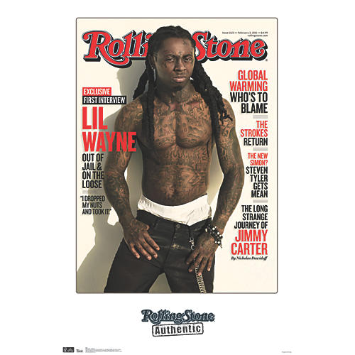 Trends International Rolling Stone - Lil Wayne 11 Poster